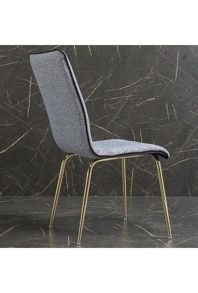 Yıldız Mobilya Moda Metal Sandalye 6'lı