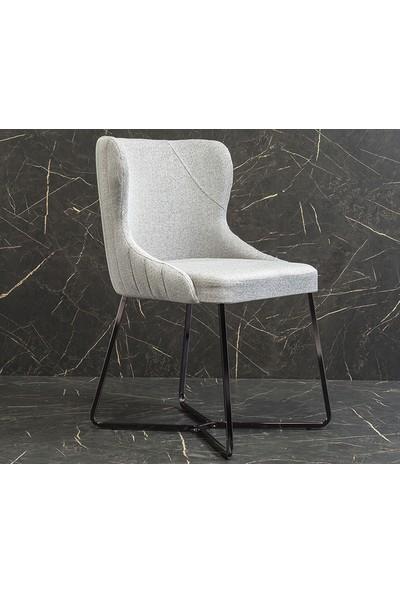 Yıldız Mobilya Monako Metal Sandalye 6'lı