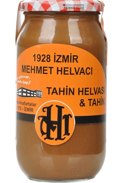 1928 Mehmet Helvacı Çifte Kavrulmuş Tahin 1 kg