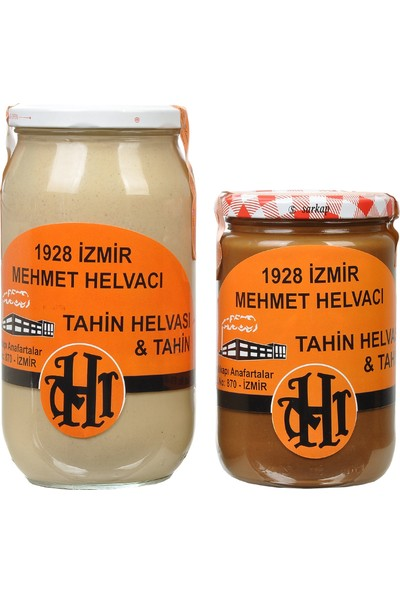 1928 Mehmet Helvacı Çifte Kavrulmuş Tahin 700 gr Tahin, 1 kg