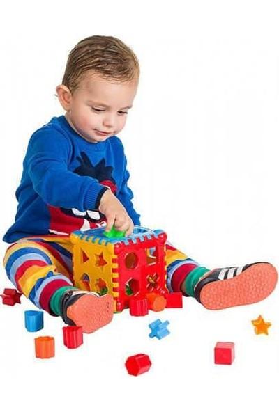 Eğitici Bebek Oyuncakları Seti Şişme Havuz Top 86 cm Havuz 100 Adet Havuz Topu Bultak ve Mini Kule