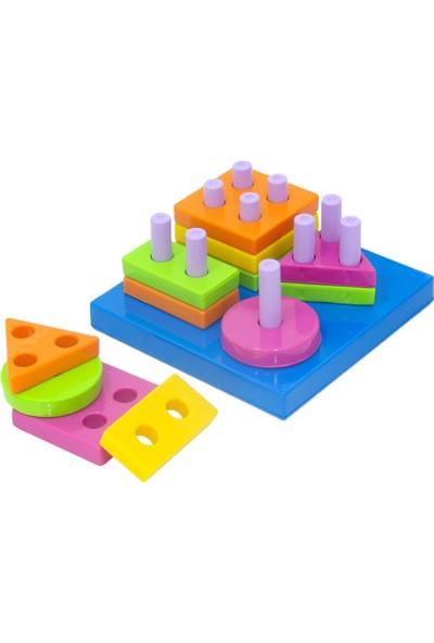 Kiki Geometrik Şekiller Bulmaca
