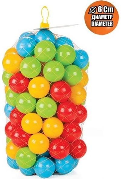 Pilsan Oyun Havuzu Topları 100 Adet 6cm -Oyun Havuz Topu Pilsan