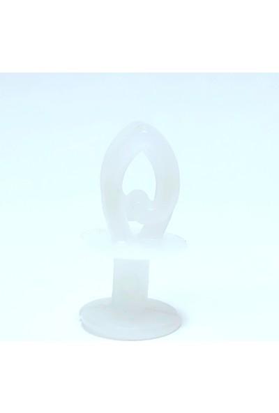 Sermet Süs Dünyası 100 Adet Geçmeli Perde Düğmesi Perde Ruleti