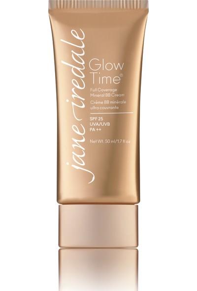 Jane İredale Glow Time® Full Covarage Mineral BB Cream-EU-SPF25-Geniş Kapsamlı Mineral BB Kapatıcı#BB8 50 ml.