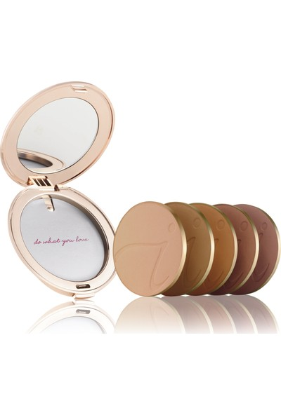 Jane İredale Refillable Foundation Compact-Refil Kutusu#Rose Gold