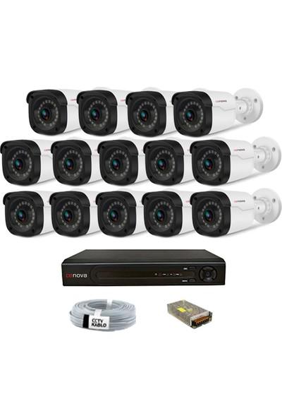 Cenova 14 Kameralı 2mp 1080p Dış Mekan Güvenlik Sistemleri