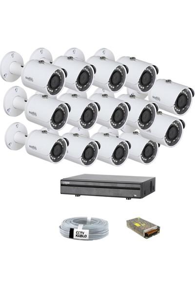 Dahua 14 Kameralı Dış Mekan Güvenlik Sistemleri