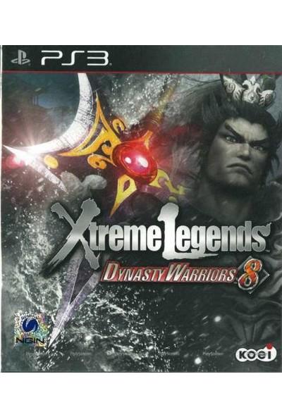 Koei Ps3 Dynasty Warriors 8 Xtreme Legends Koei Oyun Playstation 3 2 Kişilik