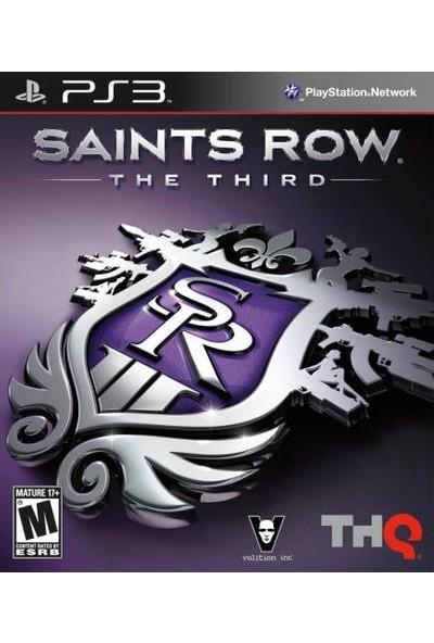 THQ Ps3 Oyun Saints Row The Third Playstation 3