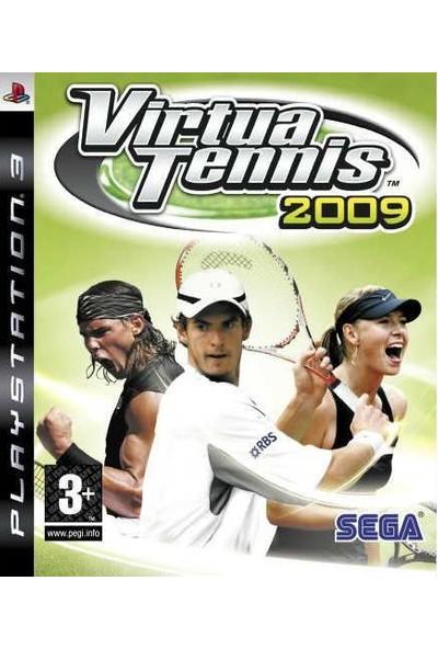 SEGA Güvenlik Etiketli Ps3 Oyun Virtua Tennis 2009 Playstation 3 1 2 3 4 Kişilik Spor Tenis