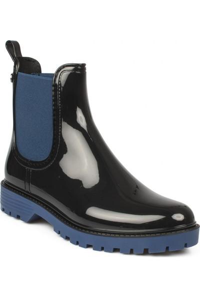 İgor 10226Z Trak Bicolor Mavi Kadın Çizme