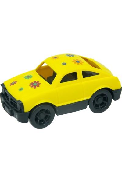 Yaka Oyuncak Çiçekli Model Araba