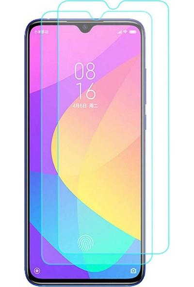 Case 4U Xiaomi Mi 9 Lite Cam Ekran Koruyucu Temperli Şeffaf