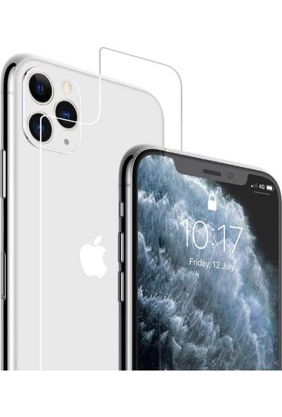Case 4U Apple iPhone 11 Pro Cam Temperli Ekran Koruyucu Şeffaf