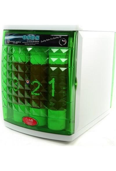 BlueSky Q14 12lt Su Depolu LG Membran Kapalı Kasa Su Arıtma Cihazı