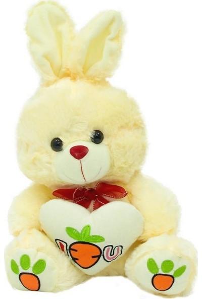 Oturan Kalpli Peluş Tavşan