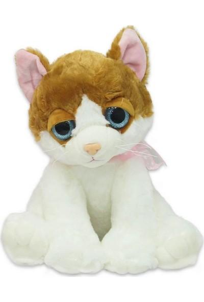 Miyavlayan Kurdeleli Peluş Kedi