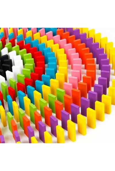 200 Parça Renkli Domino