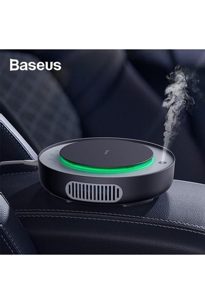 Baseus CRJHQ01 Freshing Breath Araç 2in1 Hava Temizleyici Nemlendirici - Siyah