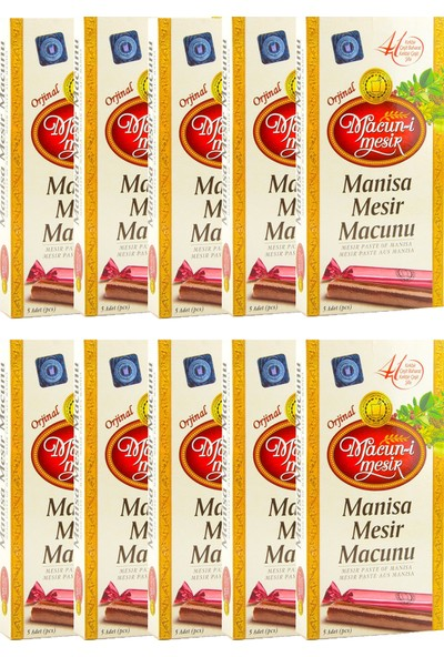 Macun-I Mesir Manisa Mesir Macunu 5 Li Çubuk 10 Lu Avantaj Paketi