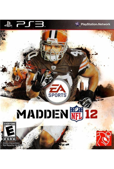 Nfl Players Ps3 Oyun Madden 12 Nfl Amerikan Futbolu Playstation 3 Oyunu