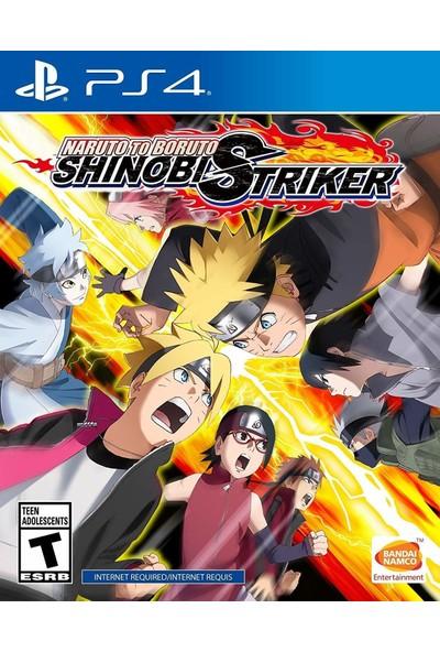 Naruto To Boruto Shinobi Striker PS4 Oyun