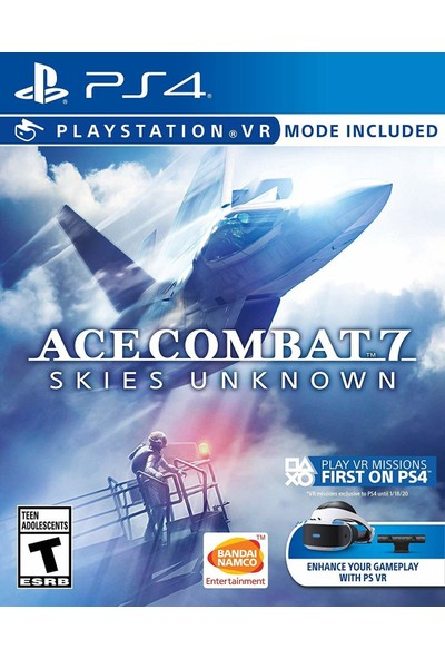 Ace Combat 7 Skies Unknown PS4 Oyun
