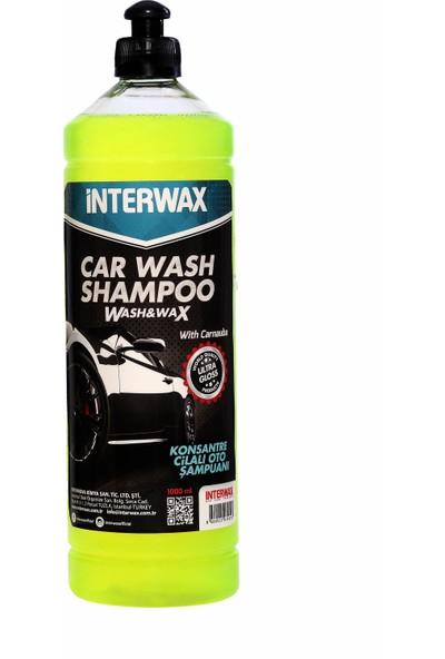 Interwax Cilalı Oto Şampuanı 1 L