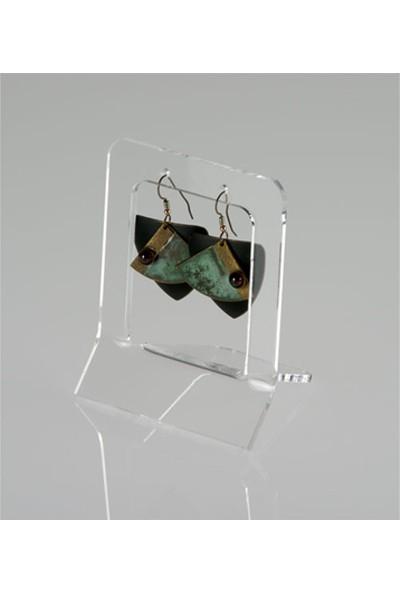 Didideko Pleksi Küçük Küpe Standı 8 x 5 x 3 cm