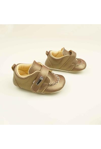 Pattini Tokalı Kız Bebek Ayakkabısı