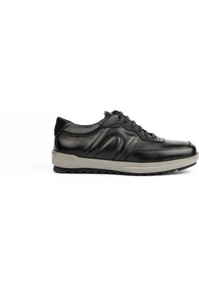 New Bota Erkek Siyah Sneaker 10038-727