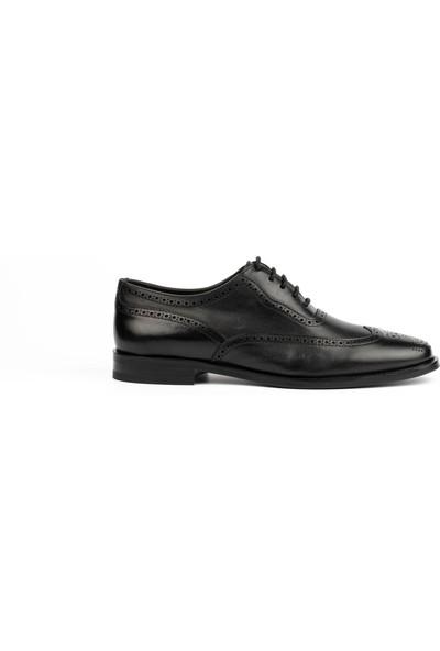 New Bota Erkek Siyah Klasik Ayakkabı 10296-727