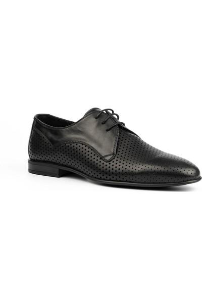 New Bota Erkek Siyah Klasik Ayakkabı 10371-727