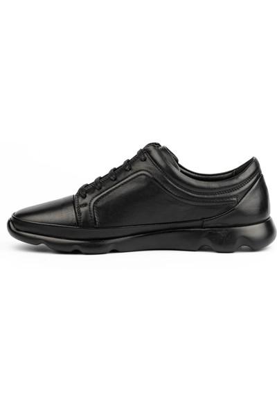 New Bota Erkek Siyah Sneaker 10484-540