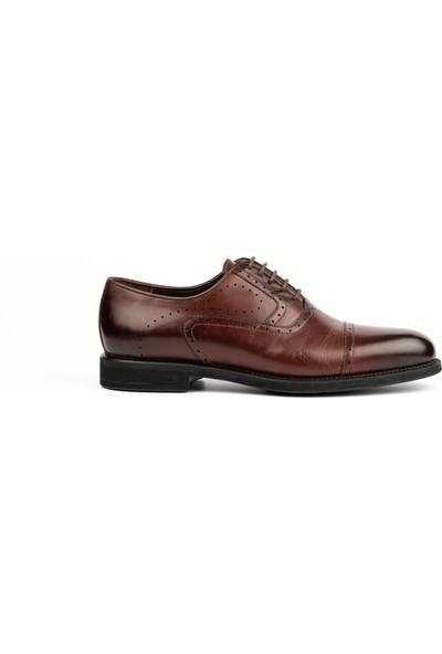 New Bota Erkek Kahve Klasik Ayakkabı 10485-1620