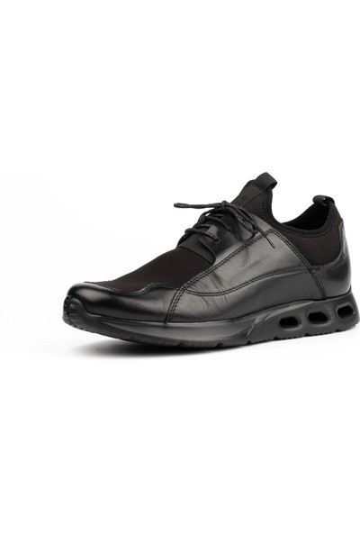 New Bota Erkek Siyah Sneaker 10598-727