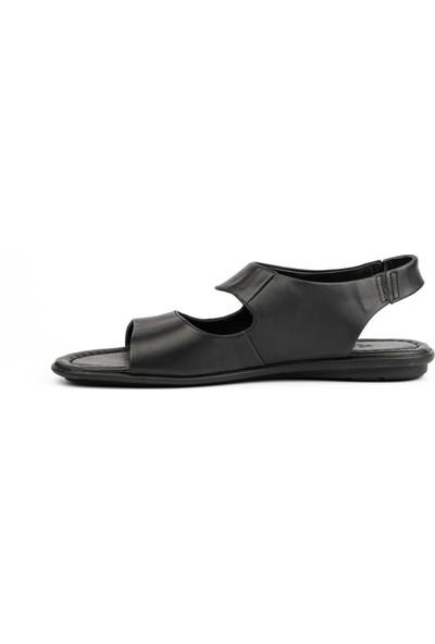 New Bota Erkek Siyah Sandalet 4123-727