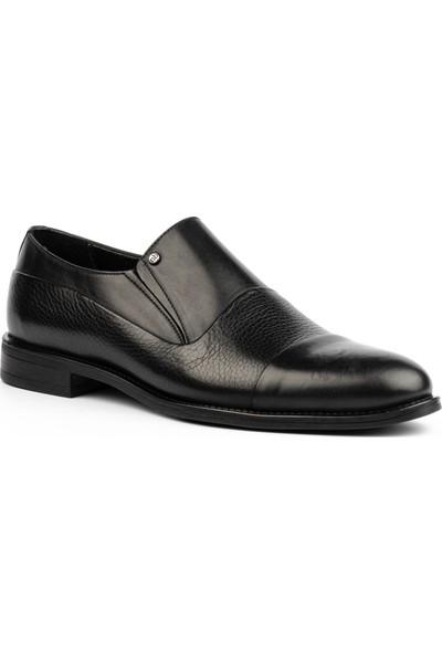 New Bota Erkek Siyah Klasik Ayakkabı H10987-727