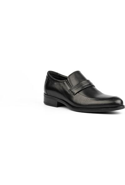 New Bota Erkek Siyah Klasik Ayakkabı H4604-727