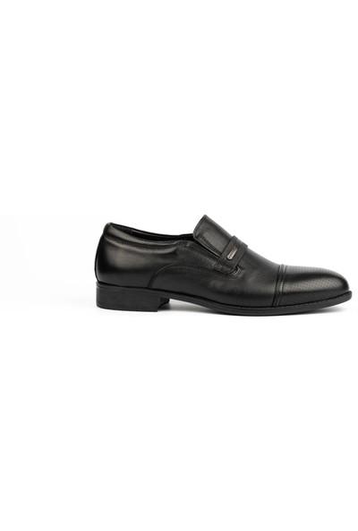 New Bota Erkek Siyah Klasik Ayakkabı H4628-540