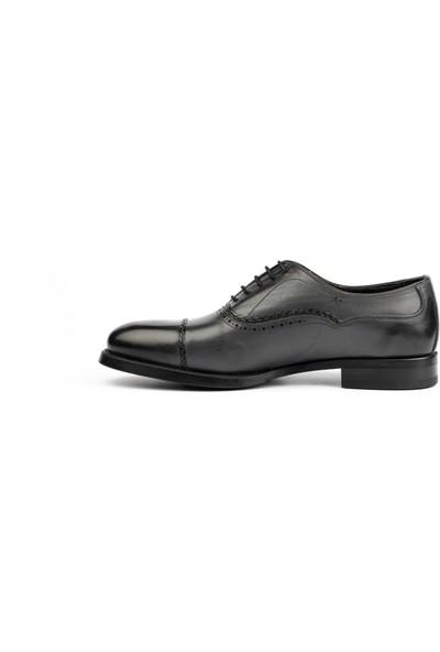 New Bota Erkek Gri Klasik Ayakkabı J10998-1619