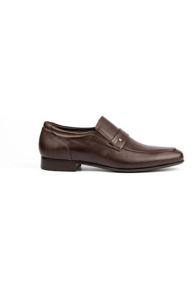 New Bota Erkek Kahve Klasik Ayakkabı J4816-1107