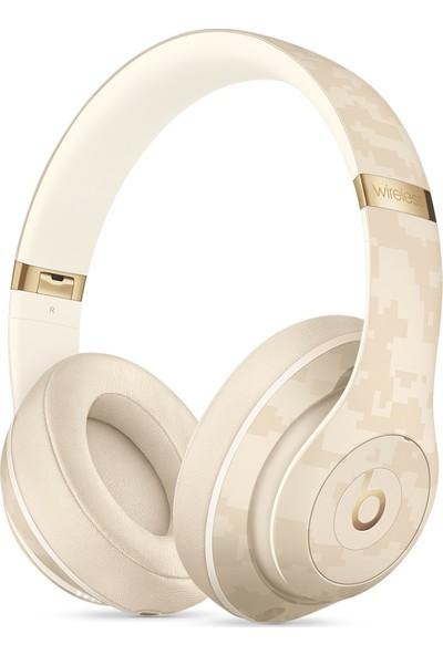 Beats Studio3 Wireless Kablosuz Bluetooth Kulaklık - Beats Camo Collection - Çöl Sarısı MWUJ2EE/A