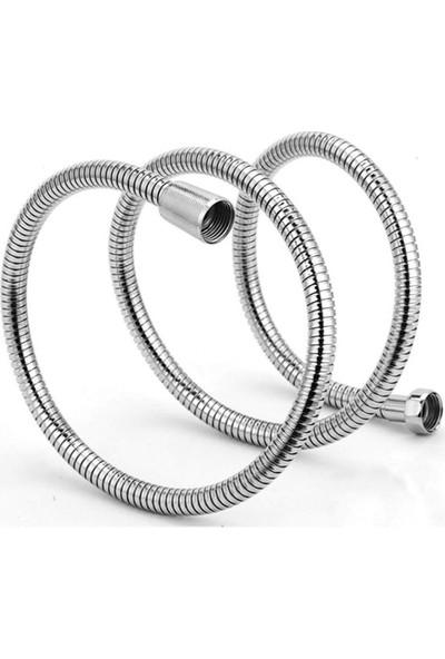 Icxy Duş Hortumu 360 Derece Dönebilen Spiralli Duş Hortumu
