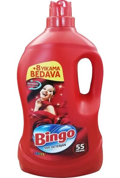 Bingo Sıvı Deterjan Renkli Çamaşırlar Özel 3,3 Lt