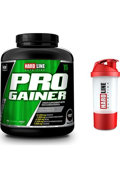 Hardline Nutrition Progainer Çikolata 3000 gr + Shaker