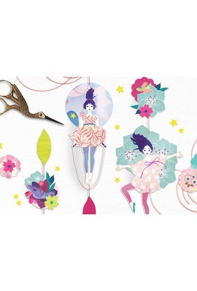 Mon Petit Art Spring Ballet Duvar Süsü