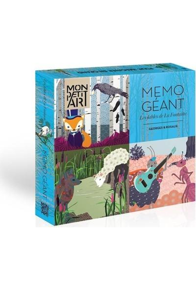 Mon Petit Art Memo Geant La Fontaine Masalları Eşleştirme Oyunu