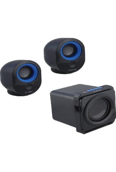 Technomax TM-2031 2+1 Multimedia Speaker